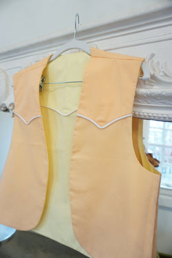 Pastel Cowgirl Reversible Vest