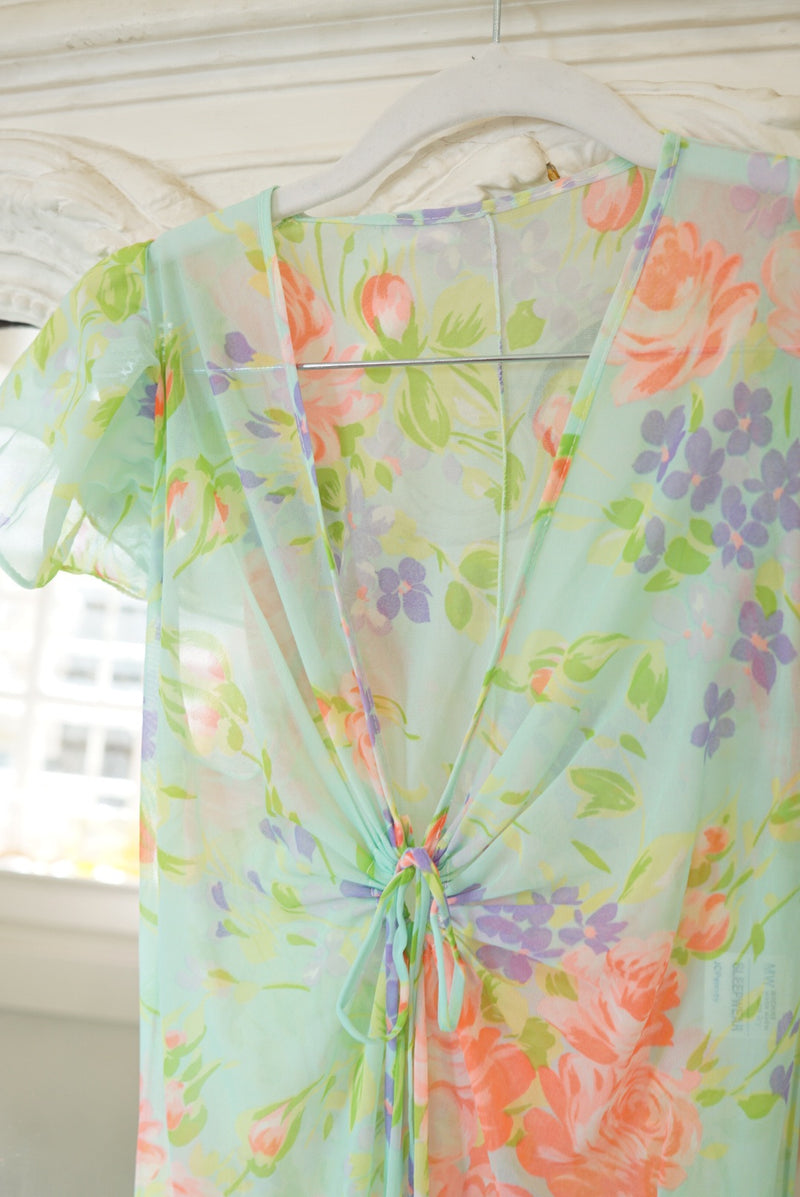 Small 70's Floral Nightie