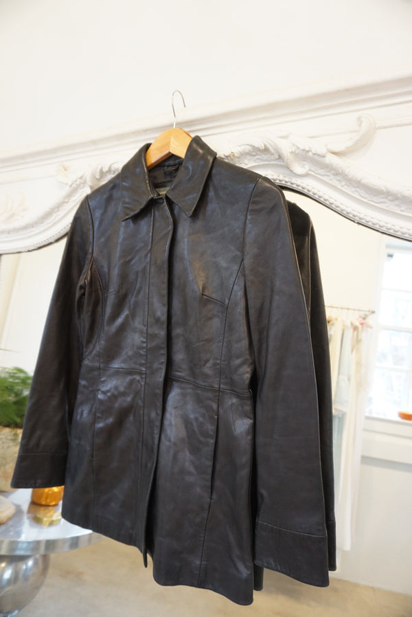 Extra Small Buttery Goodness Banana Republic Leather Jacket
