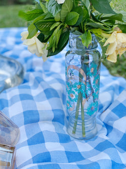 Hand-painted Ditsy Floral Vase