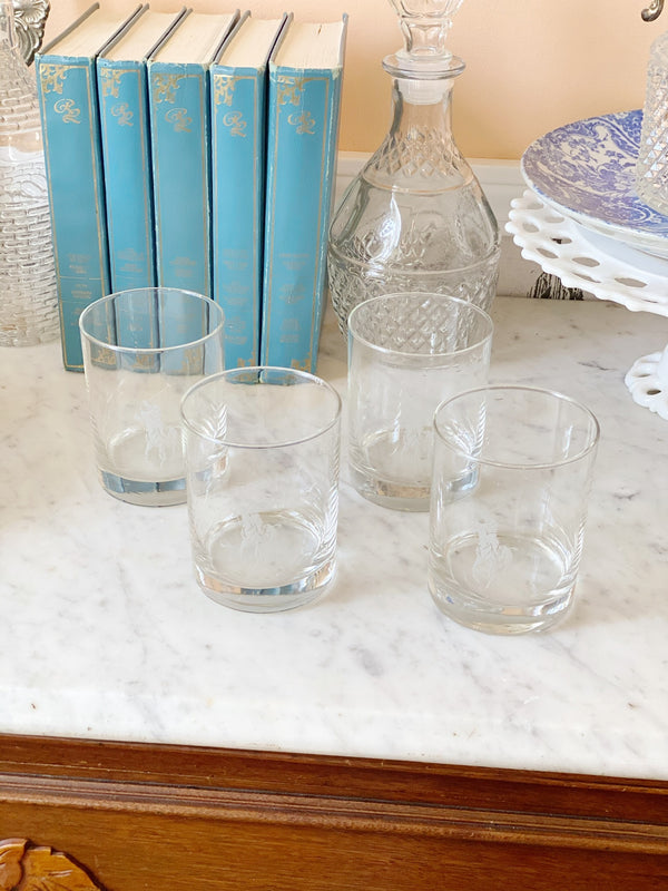 Vintage Polo Ralph Lauren Whiskey Glasses
