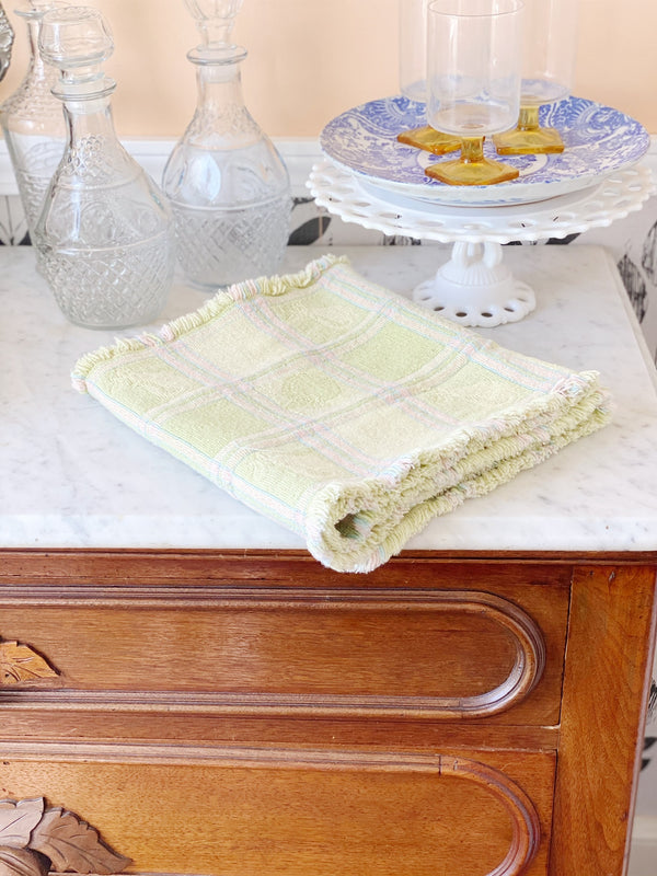 Peach and Pear Pastel Table Runner