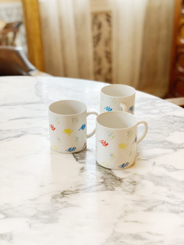 Rainbow Confetti Mug Set