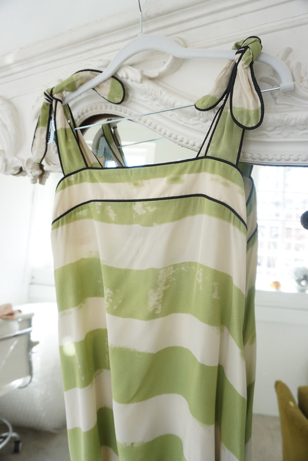 Medium Y2K Silk Beach Dress