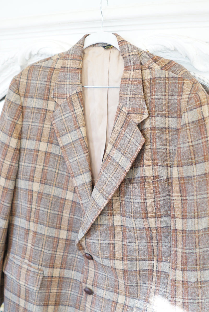 Extra Large All The Best Tartan Blazer