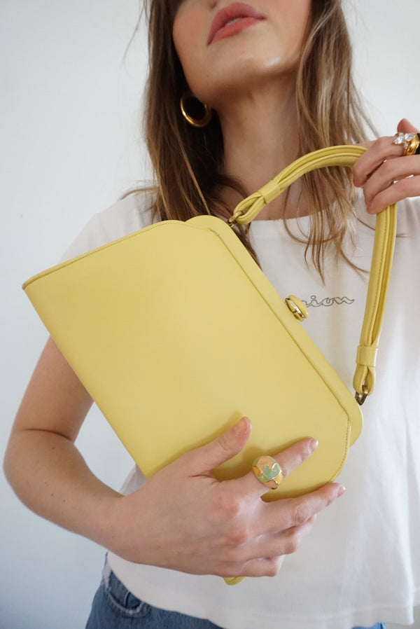 Mint Condition Easter Egg Yellow Handbag