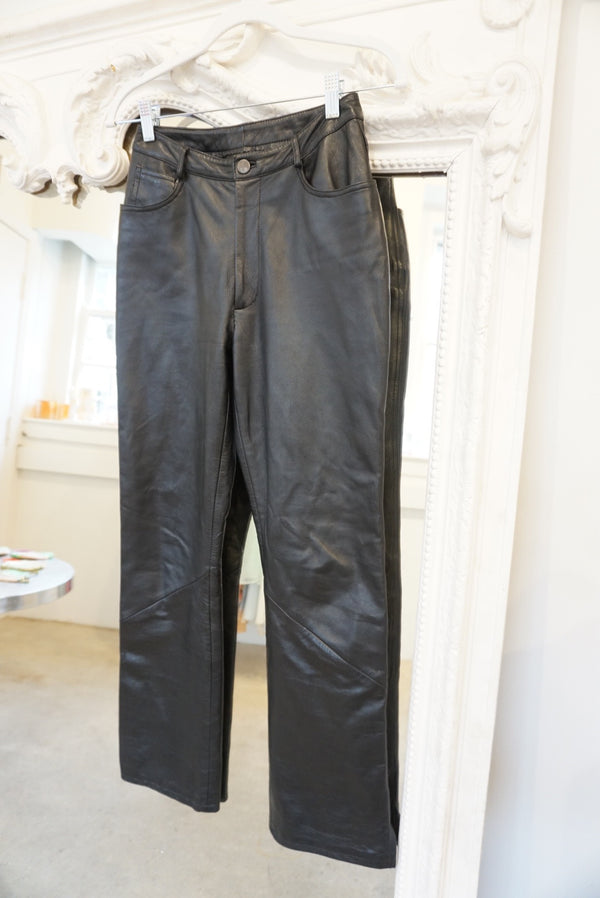 Sz.25 90's Leather Model Pant