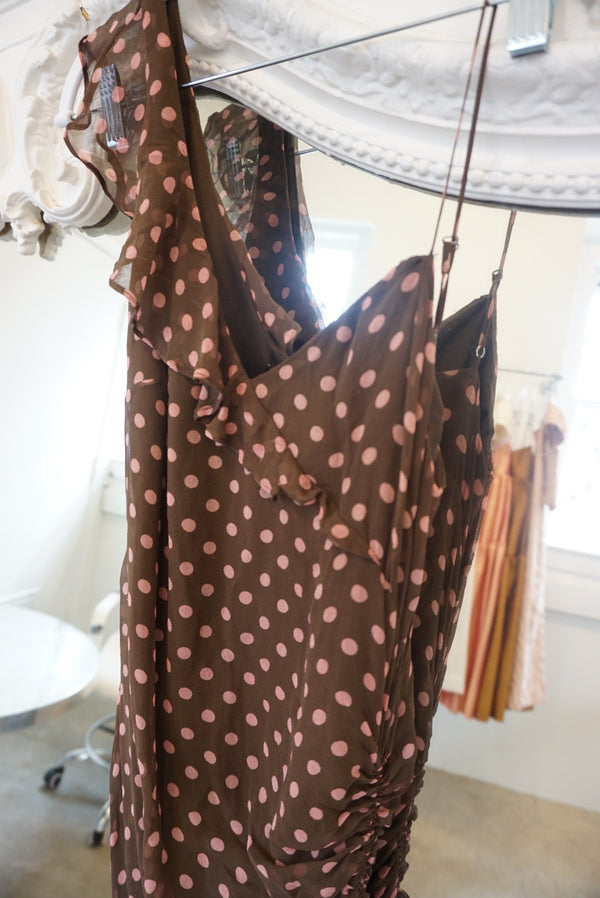 Y2K BCBG Polka Dot Dress