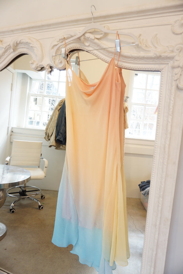 Medium Rainbow Slushie Asymmetrical Dress