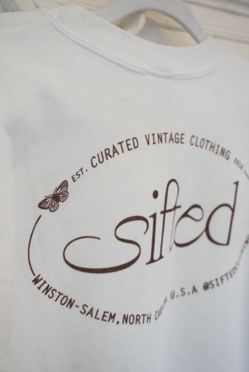 Large Sifted Butterfly Logo Sweatshirt