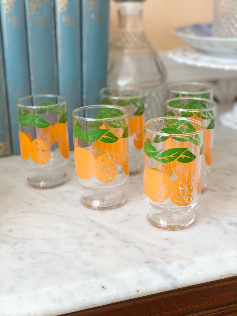 Lil' Orange Juice Glass Set