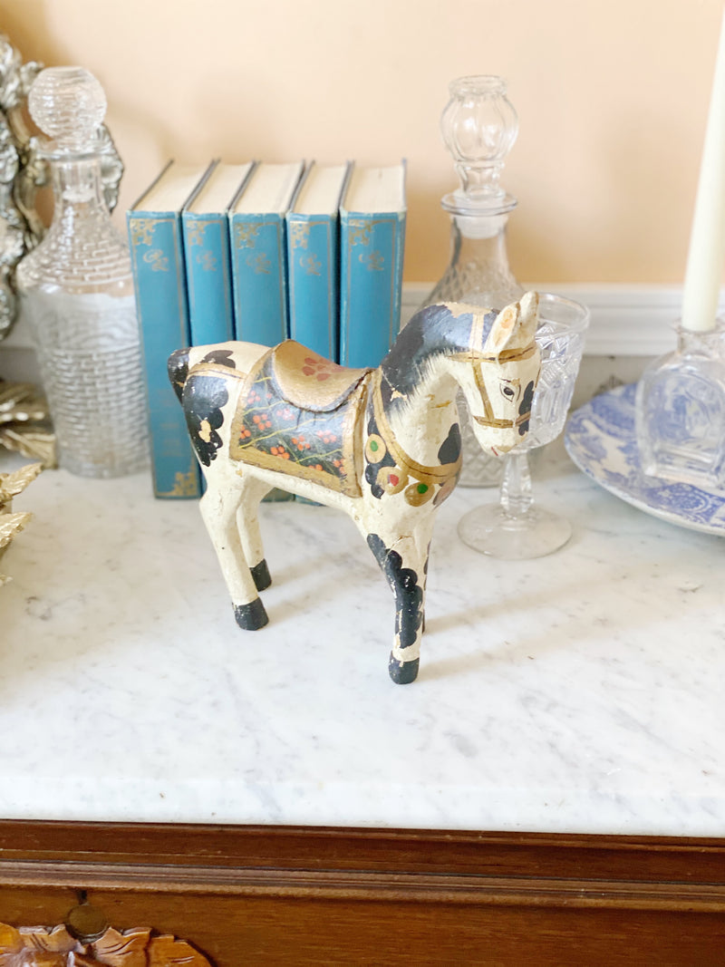 Dainty Painted Vintage Pony