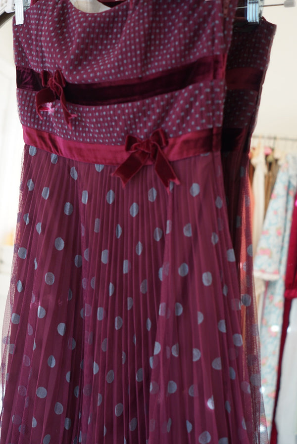 Small Mulberry Betsey Johnson Party Dress