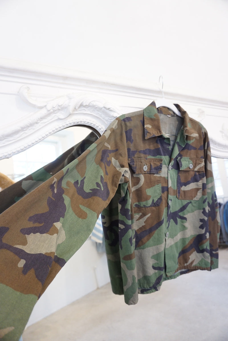 Extra Small 70's Camo Layer Top