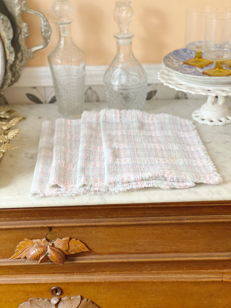 Vintage Plaid Pastel Set
