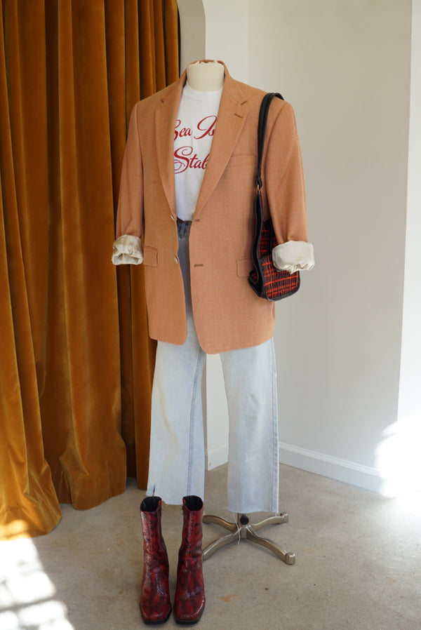 XL Orange Cream Dream Blazer