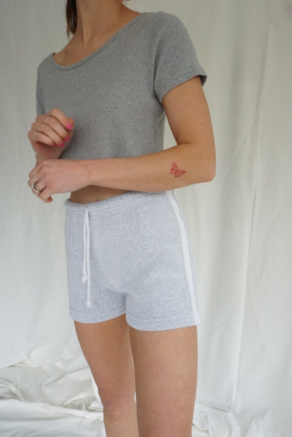 XS High Waisted 80's Terry Shorts