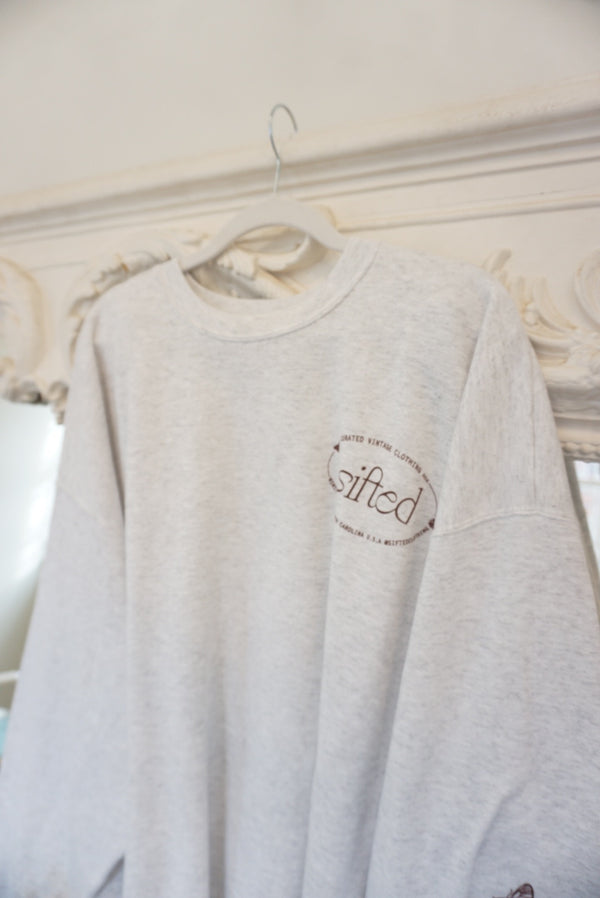 Extra Large Sifted Butterfly Logo Sweatshirt