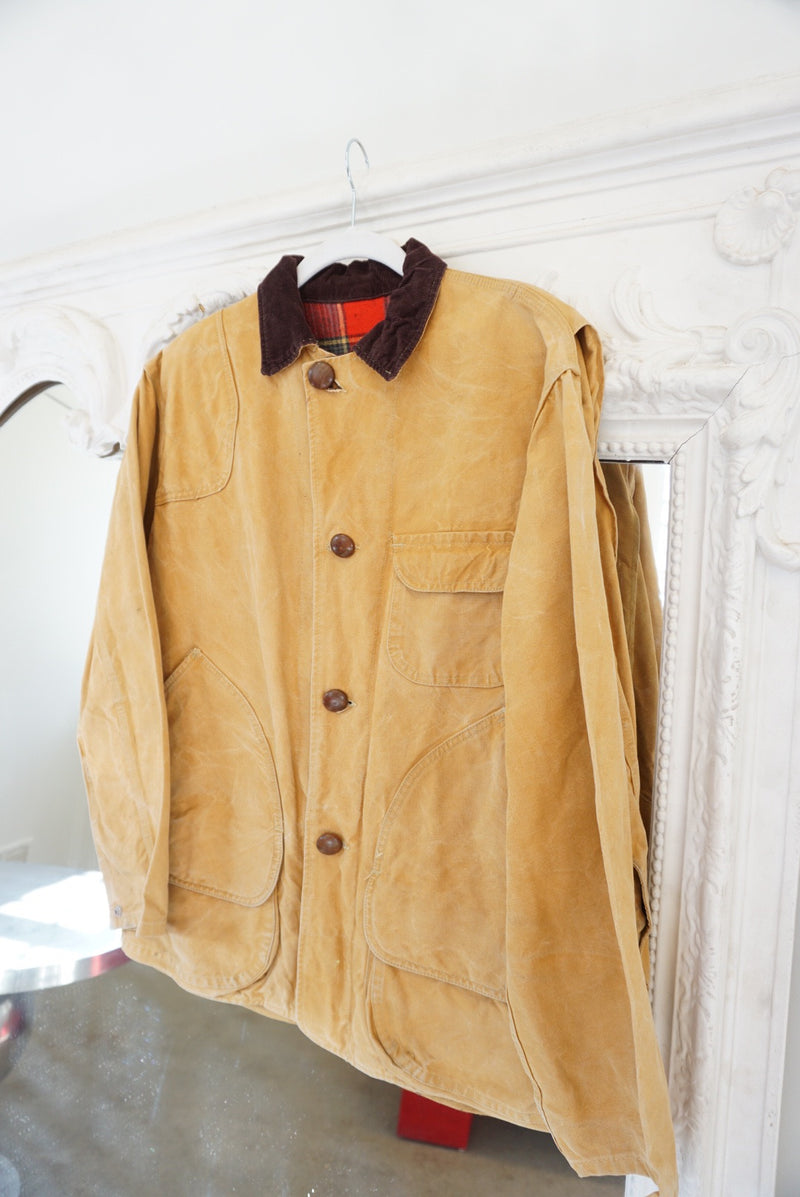 Large 50's Canvas Coat