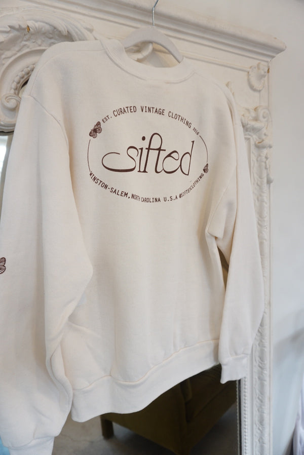 Medium Sifted Butterfly Sweatshirt
