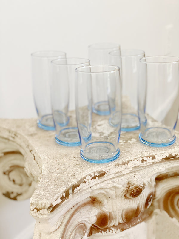Baby Blue Highball Set