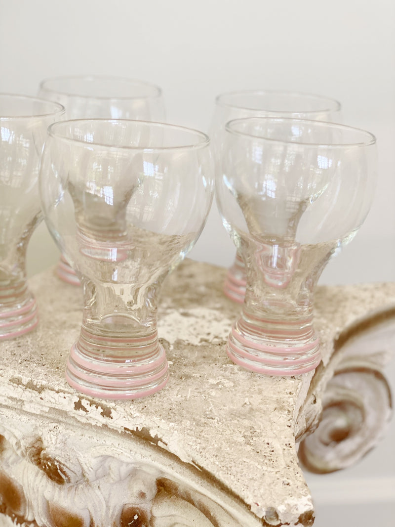 INCREDIBLE Eight Piece Glass Set