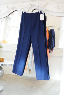 Small 60's Navy Trouser