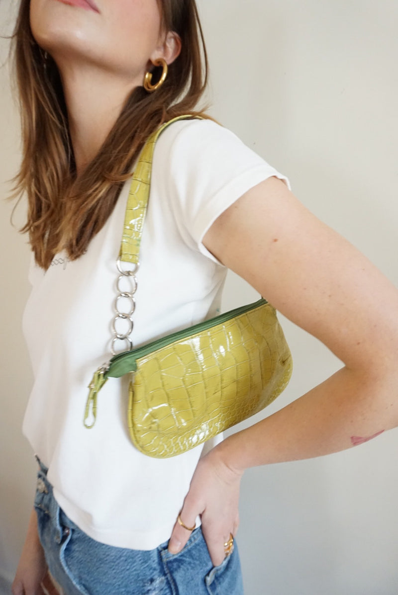 Lime Green Mini Bag