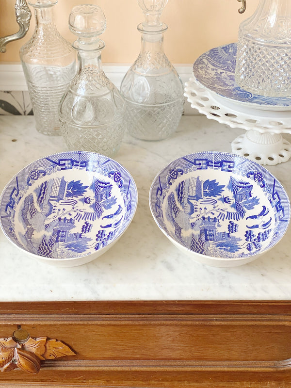 Blue Willow Serving Set