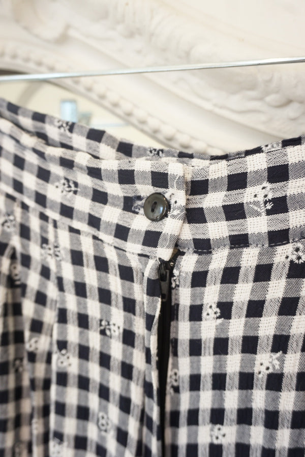 Small Gingham Play Shorts