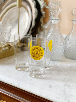Incredible Vintage Wake Forest Glass Set