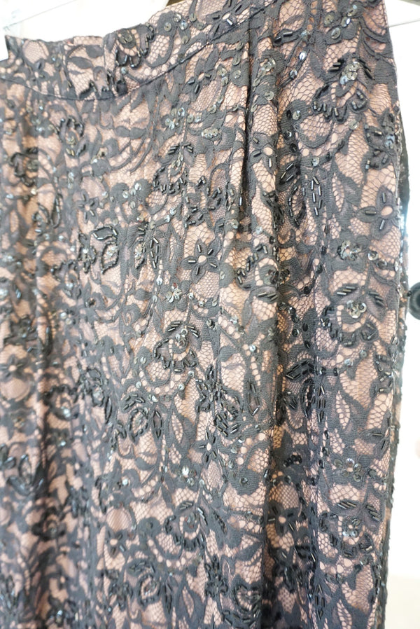 Sz. 8 Ungaro Beaded Lace Trousers
