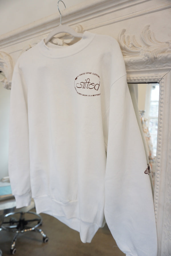 Medium Sifted Butterfly Logo Sweatshirt