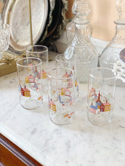 Adorable Farmhouse Highball Set