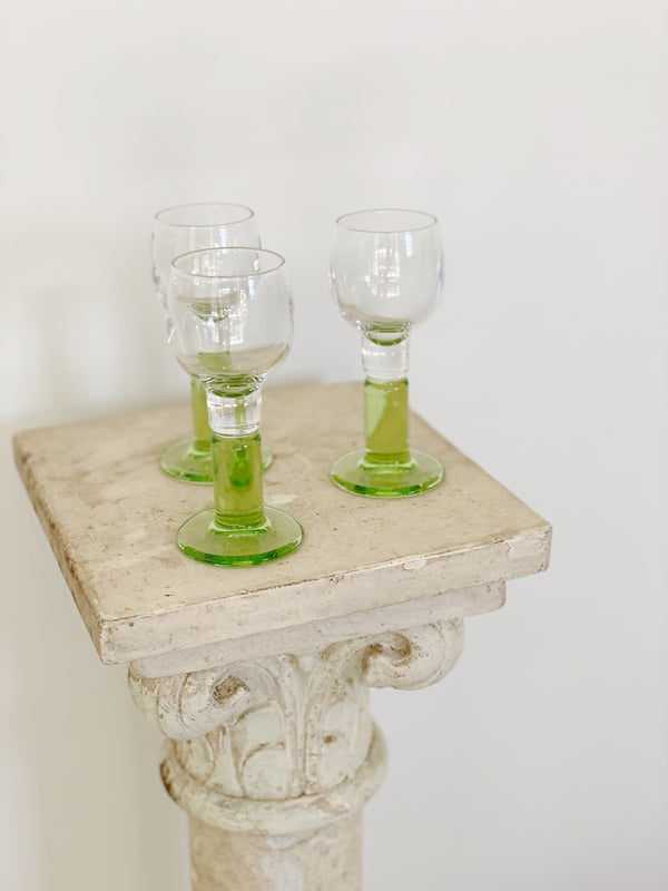 Green Goodness Shot Glass Set