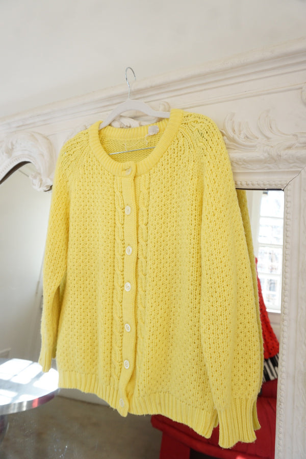 Medium Bright Sunshine Cardi