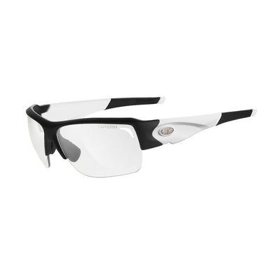 Tifosi Elder SL Sunglasses - Black/White Frame / Light Night Fototec Lens