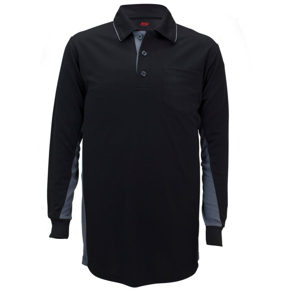 Adams MLB Style Long Sleeve Shirt -Black