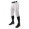 Champro Triple Crown Knicker Baseball Pants with Braid - White/Black