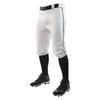 Champro Triple Crown Knicker Baseball Pants with Braid - White/Royal
