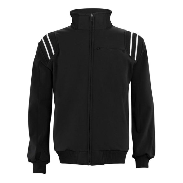 Adams Cold Weather Long Sleeve Umpire Jacket - Black/White