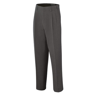 Adams Pleated Expandable Waist Umpire Pants - Charcoal Gray
