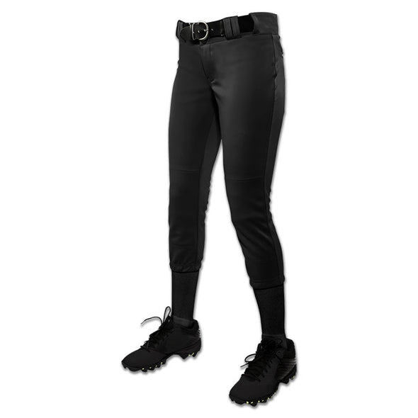 Champro Women's Softball Tournament Traditional Low-Rise Pants