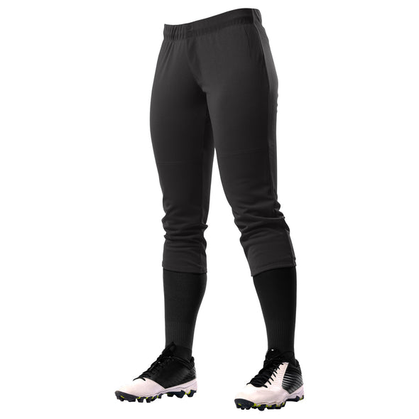 Champro Girls Fireball Softball Pant - Black