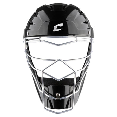Champro Optimus MVP Hockey Style Catcher's Headgear - Black