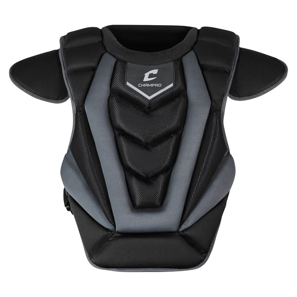 "Champro Optimus Pro Chest Protector 14"" Length - Black"