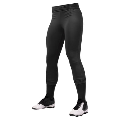 Champro Womens Hot Shot Yoga Style Softball Pants - Black