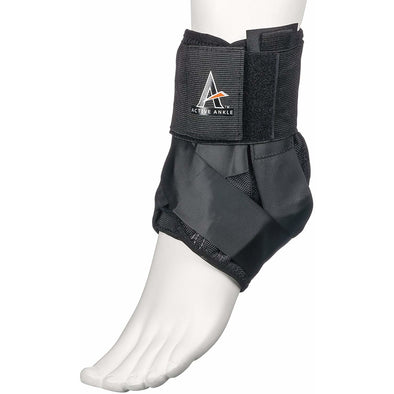 Cramer Active Ankle AS1 Pro Lace up Ankle Brace with Strap - Black