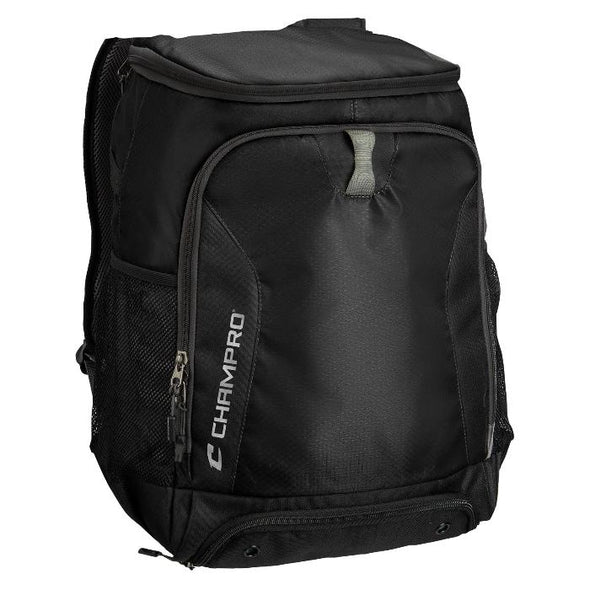 "Champro Fortress 2 Backpack 13""X 8""x 18""-Black"
