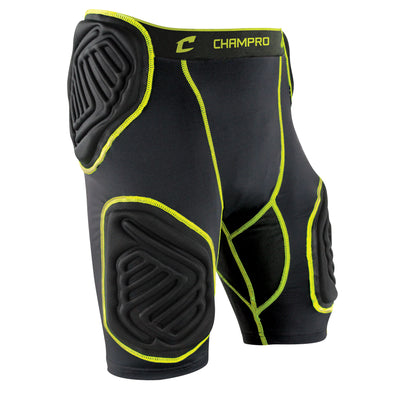 Champro Bull Rush 5-Pad Girdle Black